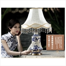 524540443713 ceramic creative classical blue and white Chinese light