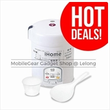 iHome Rice & Congee Cooker 1.5L White HL904AB