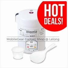 iHome Rice & Congee Cooker 1.8L White HL905AB