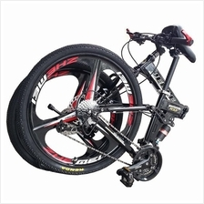 26 Inch Folding Bike Bicycle Sport Rim Alloy Frame Basikal MTB