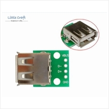 Arduino IoT USB Type A Female To 2.54mm Header Adaptor Board