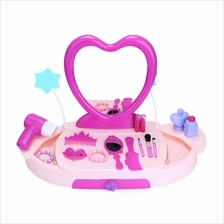 BOWA 19PCS BABY KIDS MAKEUP TOOLS BOX MINI SIMULATION EDUCATIONAL TOY