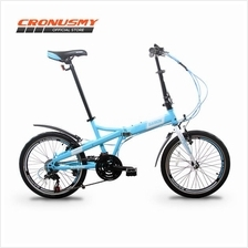 [Cronus.my] Garion G2032-BC 20' Folding Bike Bicycle with 21 Speed