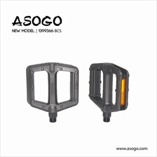 Asogo Bicycle Pedal (Plastic+Steel) for 9/16' 1399366-BCS