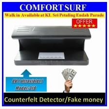 Money Detector counterfeit Currency LED UV light- Model 318