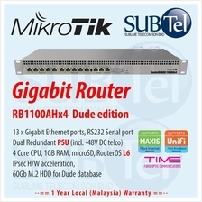 RB1100AHx4 Mikrotik Gigabit Router 13 port quad core RB1100Dx4 Dude Ed