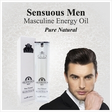 SENSUOUS MEN/PERFUME FOR MEN (PURE NATURAL ENERGY OIL)