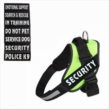 Reflective Service Dog Pet Band Patch ID Sticker Working Badge Label