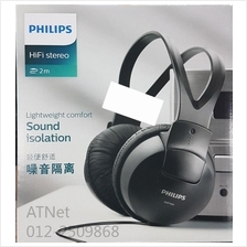 PHILIPS FULL SIZE SOUND ISOLATION STEREO HEADPHONE - SHP1900
