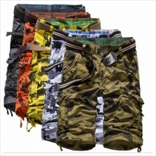 Men Outdoor Travel Fashion Camouflage Cotton Beach Pants (5 Color) Sol..