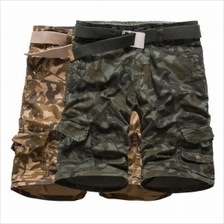Men Fashion Camouflage Cotton Beach Pants (2 Color) MT005894
