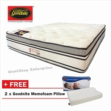 Goodnites Mattress WS Series-Black-King Size FREE 2 MEMOFOAM PILLOW