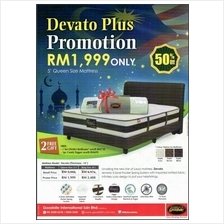 Raya Sales Goodnite Devato Pocket Spring Queen King Mattress Full Set