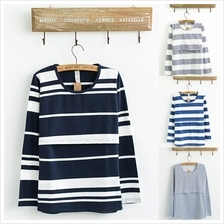 Maternity Nursing Top - Classic Stripes - Long Sleeve
