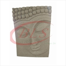 POLYRESIN H 40 CM HANGING WALL BUDDHA FACE DECORATION GIFT