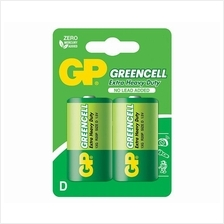 GP BATTERIES GREENCELL EXTRA HEAVY DUTY D SIZE 13G 4PCS
