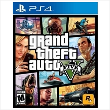 PS4 GRAND THEFT AUTO V GTA 5 R3 GAME for SONY PLAYSTATION 4