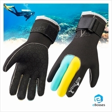 New 3mm Anti-slip Scuba Diving Gloves Surfing Winter Swimming Gloves