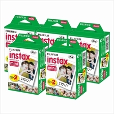 Fujifilm Instax Mini Film Twin Pack Of (20 Sheets x 5)