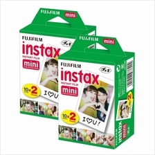 Fujifilm Instax Mini Film Twin Pack Of (20 Sheets x 2)
