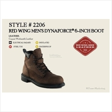 Red Wing Mens Dynaforce 6 Inch Boot Made In USA 2206
