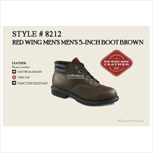 Red Wing Mens 5 Inch Boot Shoes Made In USA 8212
