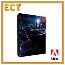 Adobe Creative Suite 6 (CS6) Production Premium Full Package for Windows/Mac (