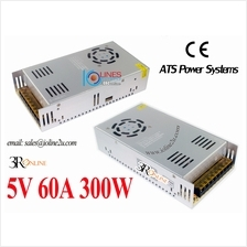 230V AC to DC 5V 60A 300W switching power supply adapter CE for LED DIsplay