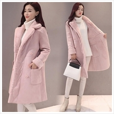 Korea Velvet Thick Winter Coat Warm Jacket
