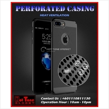 Perforated Armor Casing Iphone 6 6s 7 8 Plus Cover Case