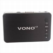 VONO+2 MINI HD MULTIMEDIA PLAYER (MR100BK)