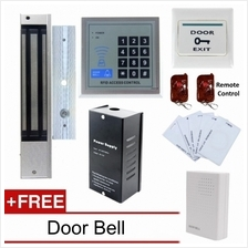 RFID Door Access Control System With Electric 280Kg Magnetic Lock Remo