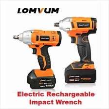 Lomvum Integrated Brush Wrench Cordless Electrical Impact Wrench Nut