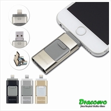 3 in 1 iFlash i-Flash Drive HD U-Disk Apple Android PC 64GB