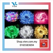 100M LED Christmas String Outdoor Light Fairy String Garland Garden