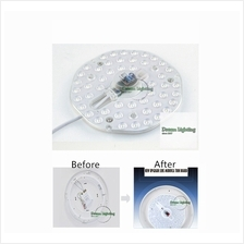 New 24W circular LED ring disc c/w magnetic high bright (Daylight 6000k) / Rep
