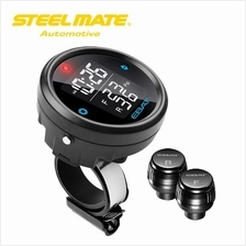 Steelmate EBAT ET-910AE 2-sensor Wireless TPMS LCD Motorcycle