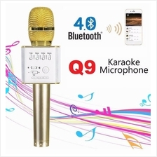 Q9 Karaoke Mic Portable Bluetooth Speaker Microphone