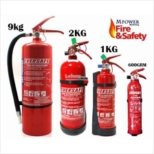 EVERSAFE 1kg 2Kg 9Kg 600Grm Car House Fire Extinguisher ABC Powder