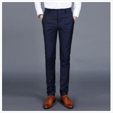 Men Slim Fit Business Casual Long Pants (4 Color) MT005064
