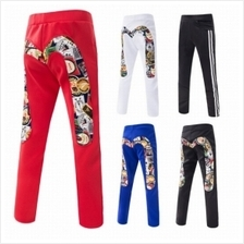 Men M Letter 3D Cut Slim Fit Sport Pants (4 Color) MT006254