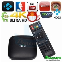 TX2 Android 6.0 TV BOX 2GB 16GB Rockchip RK3229 Cortex A7