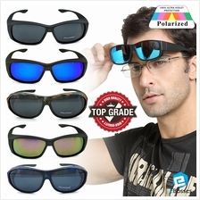 TOP GRADE UV Protection FitOver Overlap Polarized Sunglasses Unisex