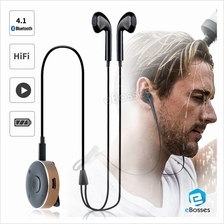 New Clip Wireless Bluetooth 4.1 Headphones Sport Stereo Music Headsets iPhone