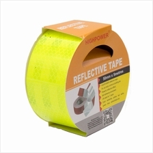 HIGHPOWER 50mm x 5 Meter Safety Reflective Warning Conspicuity Film St..