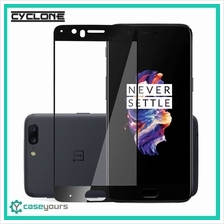 CYCLONE Ultimate OnePlus 3 3T 5 5T 6 3D Curved Tempered Glass Full Screen Prot