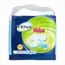 Tena Value Adult Diaper Medium 12s
