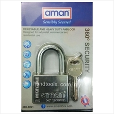 AMAN  360? SECURITY REKEYABLE AND HEAVY DUTY PADLOCK