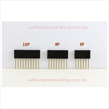 Single Row Female 8 ways Straight Long Pin Header  – 2.54mm pitch