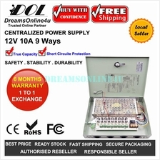 Centralized 12V 10A 120W 9 Ways Full Rated DC Switching Power Supply